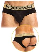 Modus Vivendi - Festive Bottomless - Schwarz