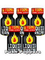 5 x LIQUID BURNING small - PACK