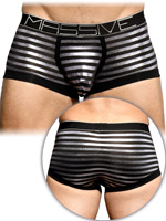 Andrew Christian - MASSIVE Glam Stripe Boxer - Black