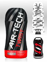 Tenga - Air-Tech Twist Reusable Vacuum Cup Masturbator - Tickle