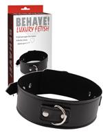Behave! Luxury Fetish - Midnight Collar