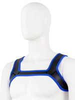 Pupplay Neoprene Harness - Blue/Black