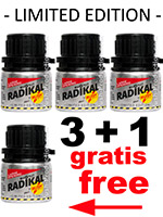3 + 1 Radikal Rush big alu bottle (Pack)