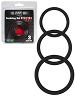 Push Monster - Silicone Cockring Set